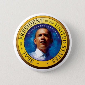 President Barack Obama Seal Button