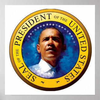 President Barack Obama Seal Poster