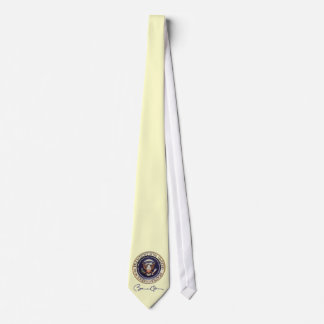 President Barack Obama Signature Neck Tie