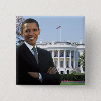President Barack Obama - Square Pin