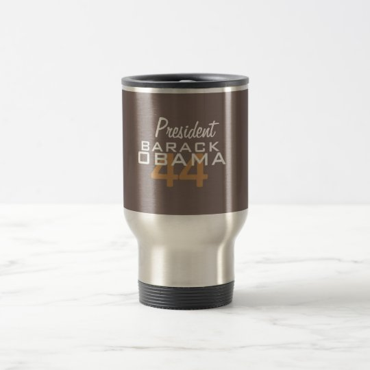 President Barack Obama Travel Mug