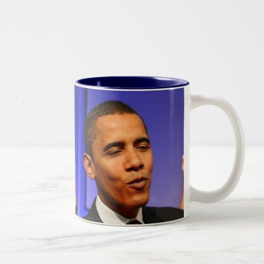 President Barack Obama Two-Tone Coffee Mug