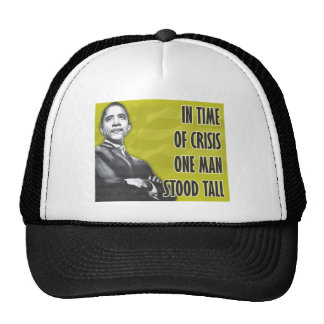 President Barack Obama Yellow Trucker Hat