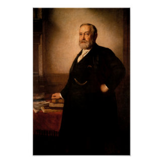 President Benjamin Harrison Painting Poster