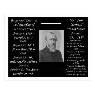 President Benjamin Harrison Post Card