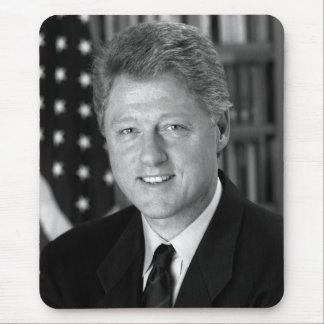 President Bill Clinton Mouse Pad