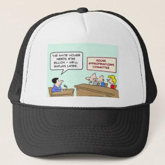 president billion dollars explain later trucker hat