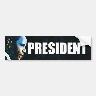 president_bumper_sticker bumper sticker