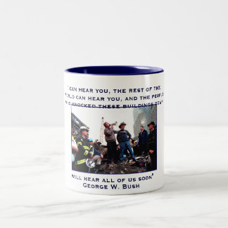 President Bush, I can hear you, the rest of the... Coffee Mugs