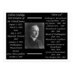 President Calvin Coolidge Post Card