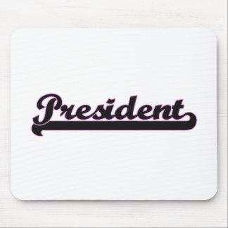 President Classic Job Design Mouse Pad