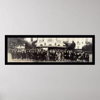 President Coolidge DC Photo 1927 Print