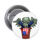 President Cthulhu Button