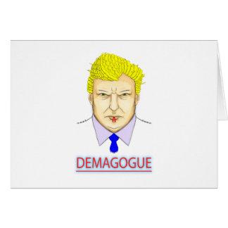 President Demagogue Card