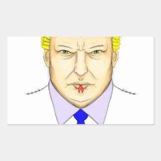 President Demagogue Rectangular Sticker