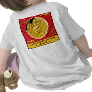 President Dick Cheney Commemorative Coin Tshirt