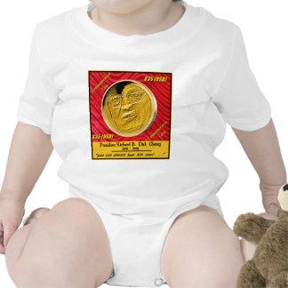 President Dick Cheney Commemorative Coin Bodysuits