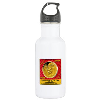 President Dick Cheney Commemorative Coin Water Bottle