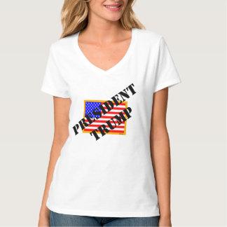 President Donald J. Trump TSHIRT V neck