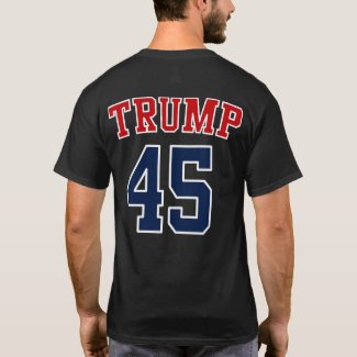 President Donald Trump 45 - GOP Elephant Hair T-Shirt