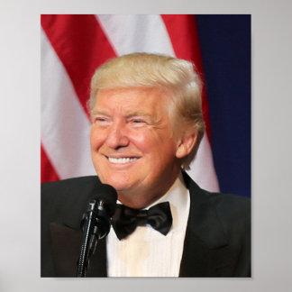 President Donald Trump At His Inauguration Poster