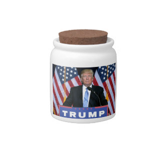 President Donald Trump Candy Dishes