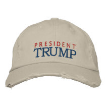 President Donald Trump Embroidered Baseball Cap