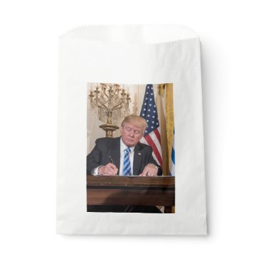 USA Themed President Donald Trump Favor Bag