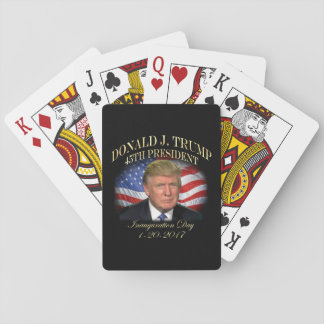 President Donald Trump Inauguration Commemorative Playing Cards