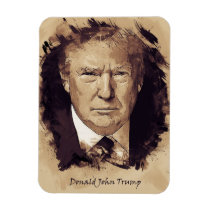 President Donald Trump Magnet