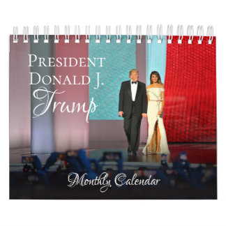 President Donald Trump Small 2018 Calendar Monthly