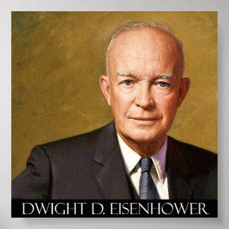 President Dwight D. Eisenhower Fine Art On Canvas Posters