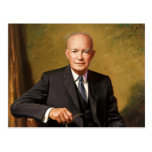 President Dwight D Eisenhower Postcard