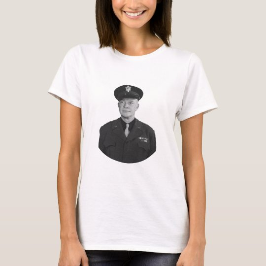 President Eisenhower and Quote T-Shirt