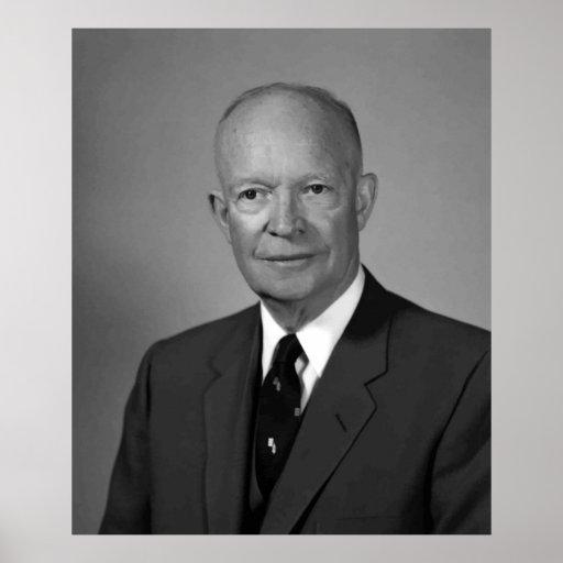 President Eisenhower Poster