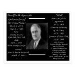 President Franklin D Roosevelt Postcards