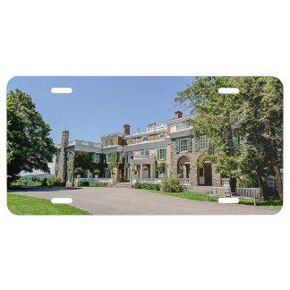 President Franklin D. Roosevelt's (FDR) Mansion License Plate