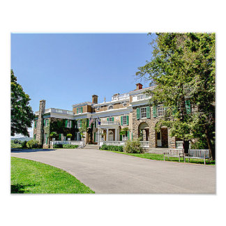 President Franklin D. Roosevelt's (FDR) Mansion Photo Print