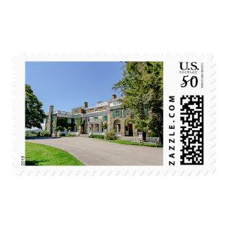 President Franklin D. Roosevelt's (FDR) Mansion Postage