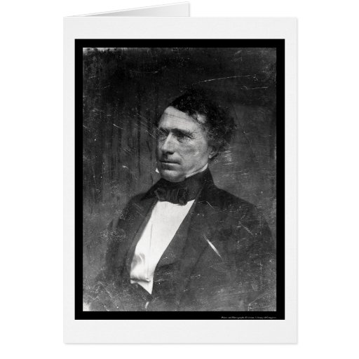 President Franklin Pierce Daguerreotype 1856 Card