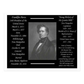 President Franklin Pierce Postcard