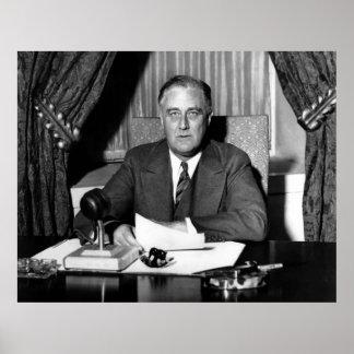 President Franklin Roosevelt Poster