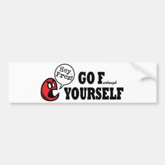 President Furlough - Go F(urlough) Yourself! Bumper Sticker
