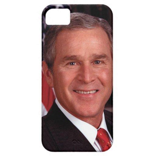 President George W Bush Official Portrait iPhone 5 Cases
