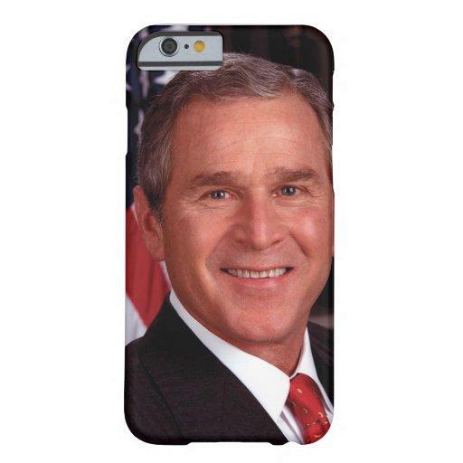 President George W Bush Official Portrait iPhone 6 Case