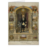 President George Washington as a Freemason Cards
