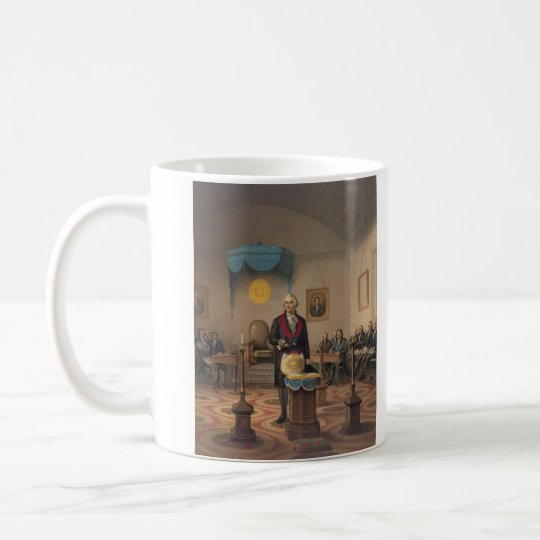 President George Washington as a Master Mason Coffee Mug