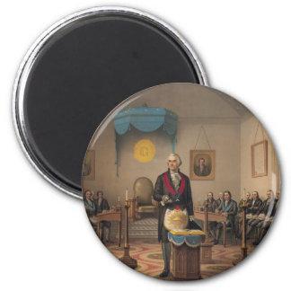 President George Washington as a Master Mason Fridge Magnet