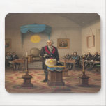 President George Washington as a Master Mason Mousepads
