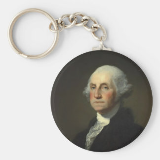 President George Washington Keychain